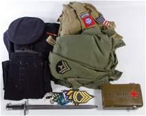 World War II to Vietnam Era Military Assortment