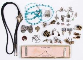 Sterling Silver Earrings Assortment