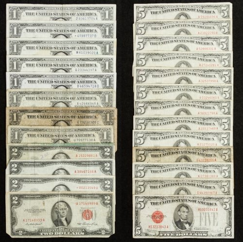 US Currency Assortment