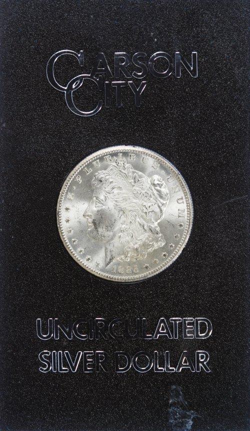 1885-CC $1 GSA MS-62
