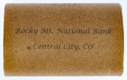 Rocky Mt. National Bank Morgan $1 Roll (Central City,