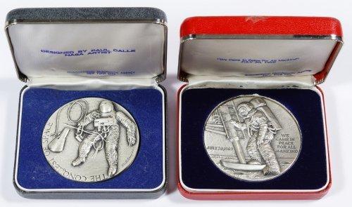 NASA Theme Silver Medals
