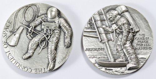 NASA Theme Silver Medals - 2