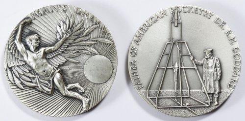 NASA Theme Silver Medals - 3