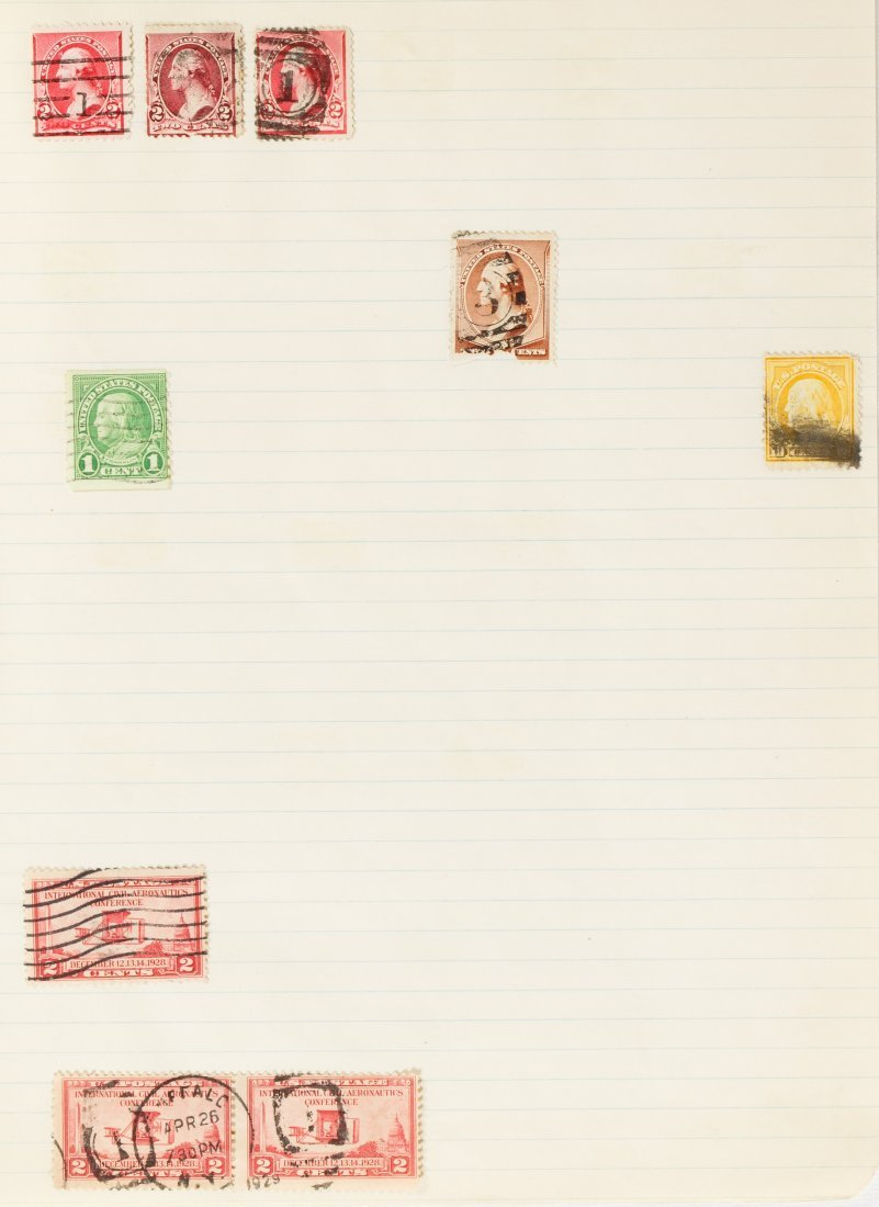 US Stamp Assortment - 7