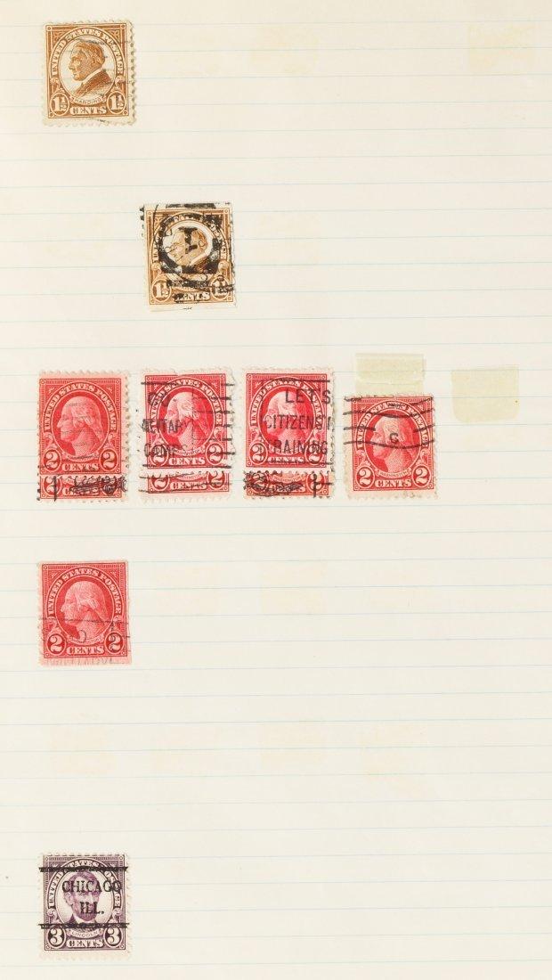 US Stamp Assortment - 8