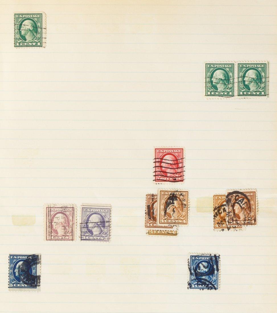 US Stamp Assortment - 9