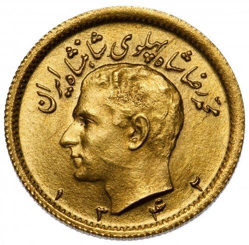 Iran: 1/2 Pahlavi Gold