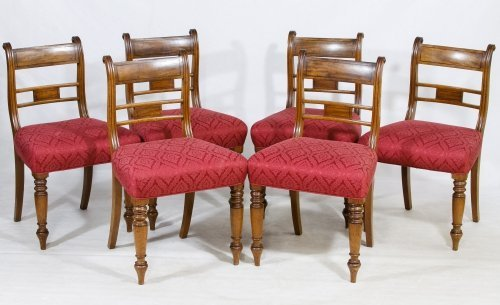 Federal Style Walnut Side Chairs