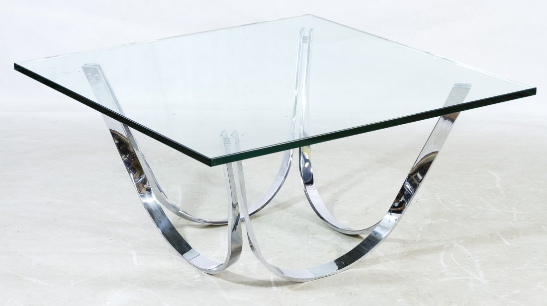 Mid-Century Modern Coffee Table by Roger Sprunger for