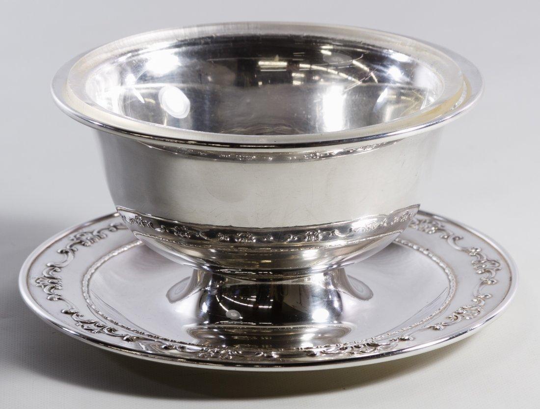 Gorham 'Strasbourg' Sterling Silver Mayonnaise Dish