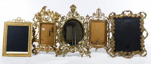 Brass Picture Frame Assortment