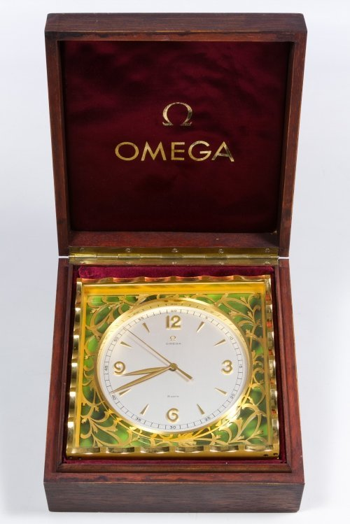 Omega Eight-Day Desk Clock - 2