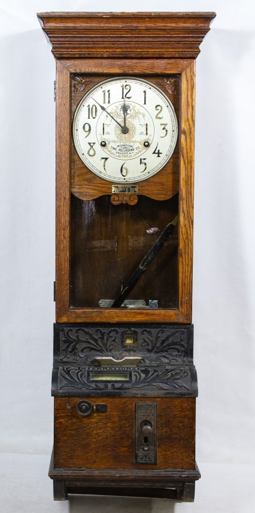 International Time Recording Co. Time Clock