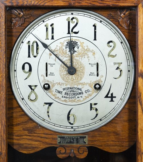 International Time Recording Co. Time Clock - 2