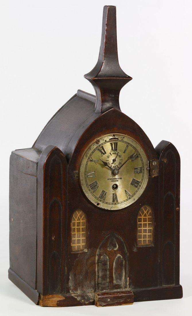 Pine Mantel Clock by Chelsea Clock Co.