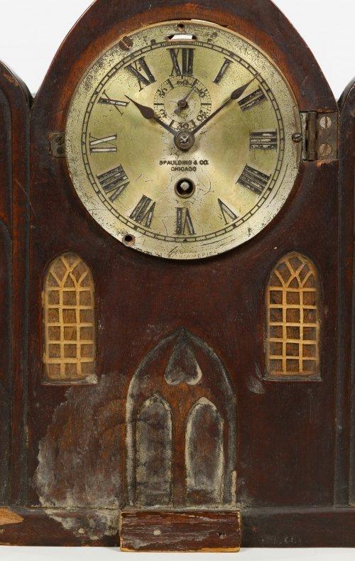 Pine Mantel Clock by Chelsea Clock Co. - 4
