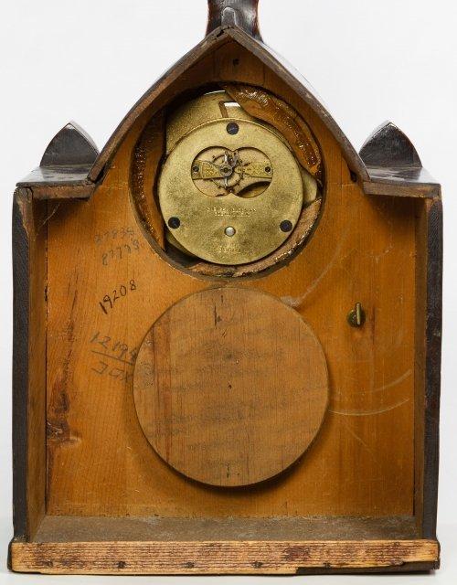 Pine Mantel Clock by Chelsea Clock Co. - 5