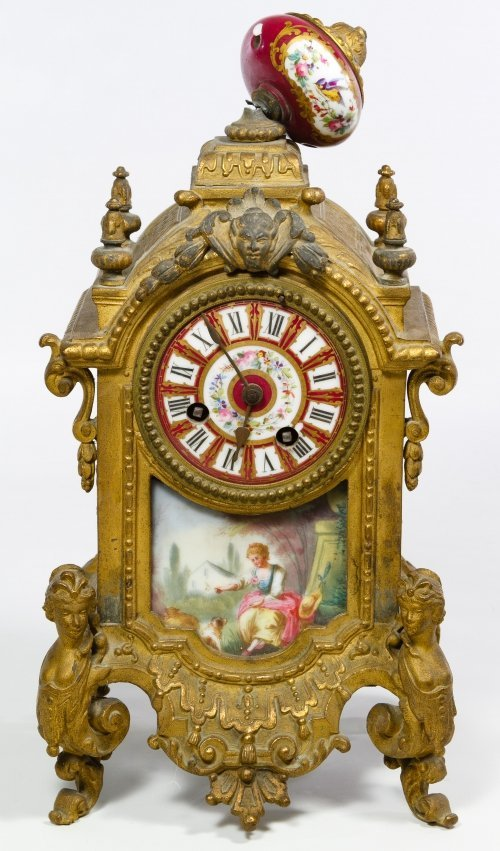 French Mantel Clock by Japy Freres & Co