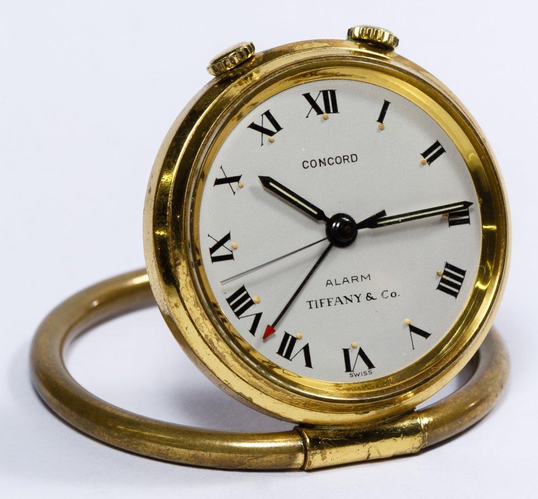 Tiffany & Co 'Concord' Travel Alarm Clock - 2