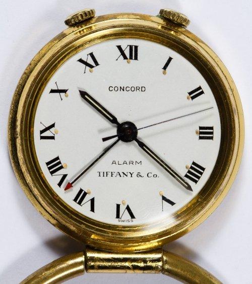Tiffany & Co 'Concord' Travel Alarm Clock - 4