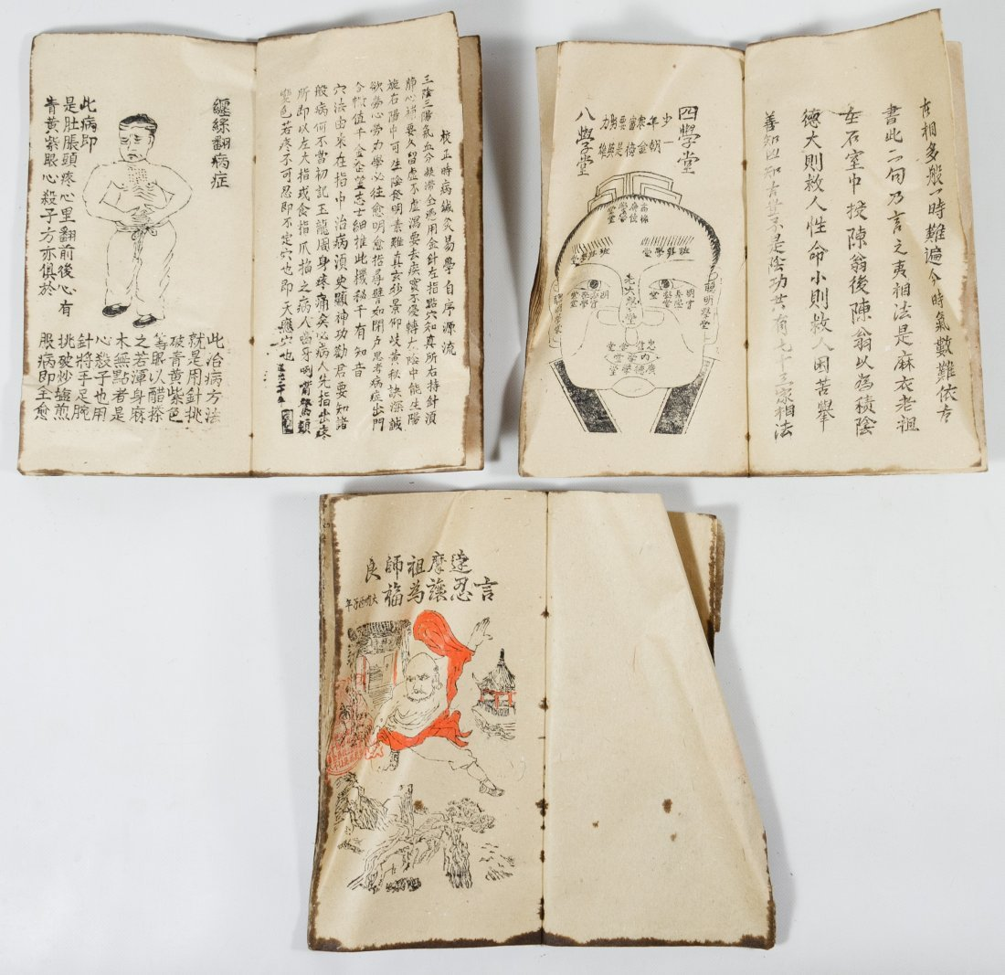 Asian Scroll and Book Assortment - 2