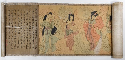 Asian Scroll and Book Assortment - 4