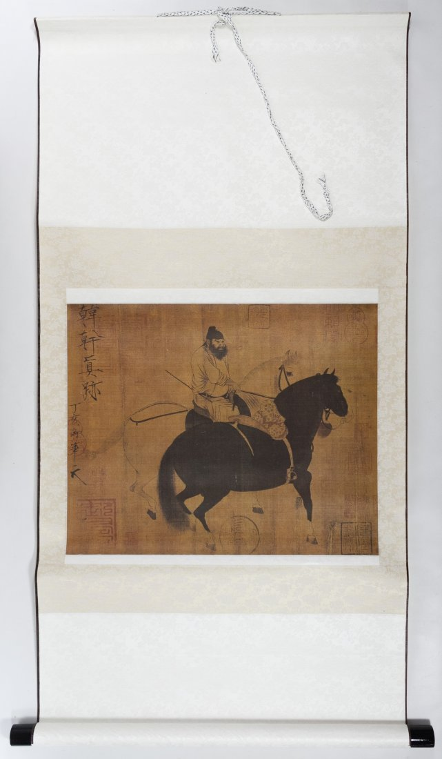 Asian Scroll and Book Assortment - 5