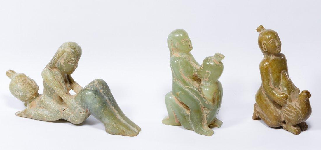 Jadeite Jade Erotic Figurines