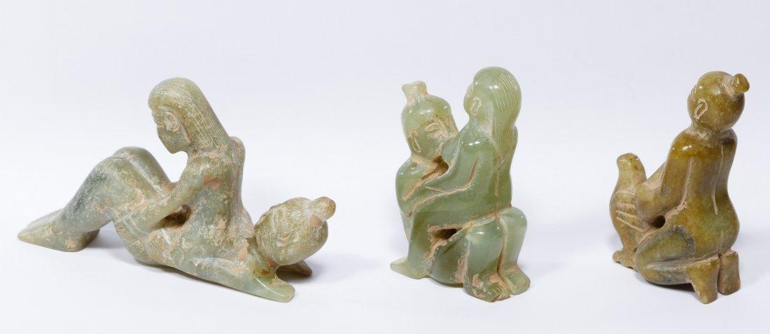 Jadeite Jade Erotic Figurines - 2