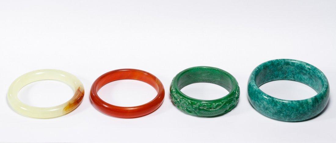 Asian Jadeite Jade Bracelets