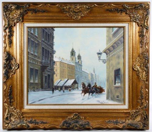 Stanislav Chimieinski (Polish, b.1936) Oil on Canvas
