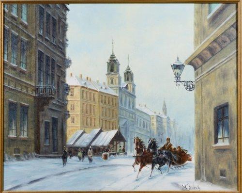Stanislav Chimieinski (Polish, b.1936) Oil on Canvas - 2