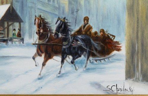 Stanislav Chimieinski (Polish, b.1936) Oil on Canvas - 3