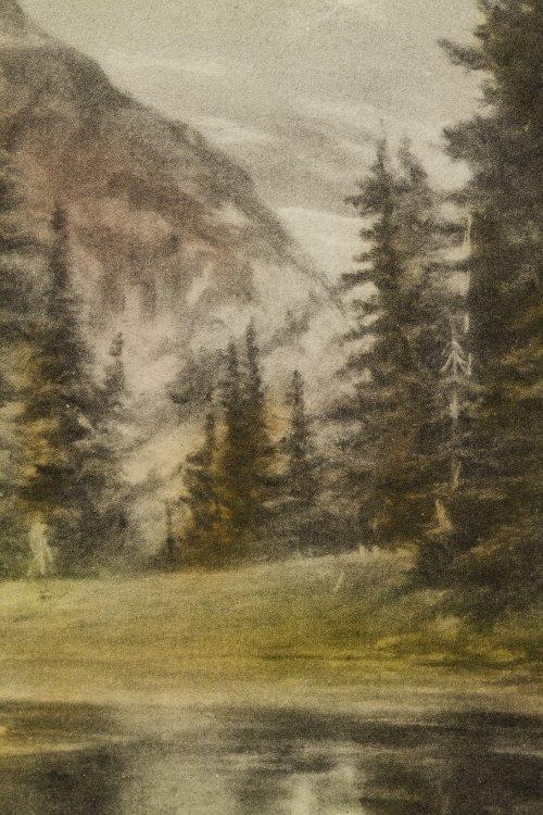 Adelaide Hiebel (American, 1879-1965) 'Mount Rainier' - 2