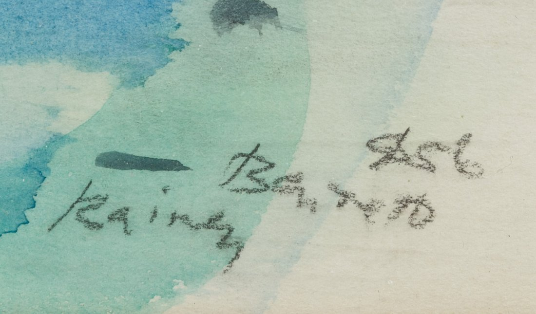 Rainey Bennett (American, 1907-1998) Watercolor on - 5