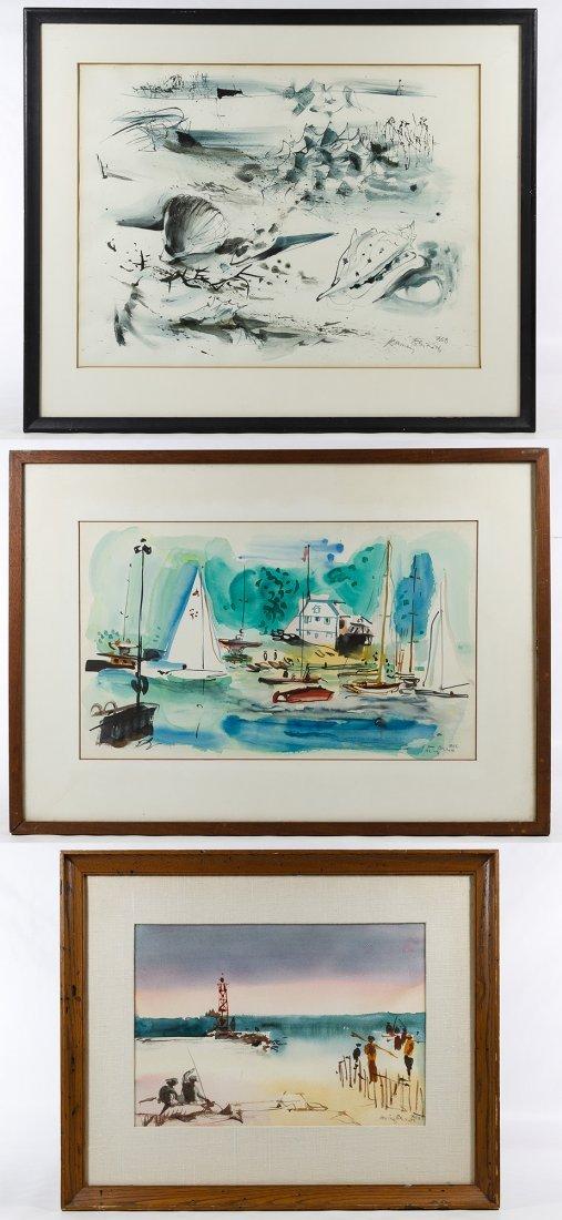 Rainey Bennett (American, 1907-1998) Watercolor on - 7