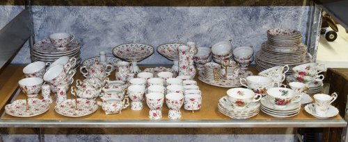 Lefton 'Rose Chintz' China Service - 3