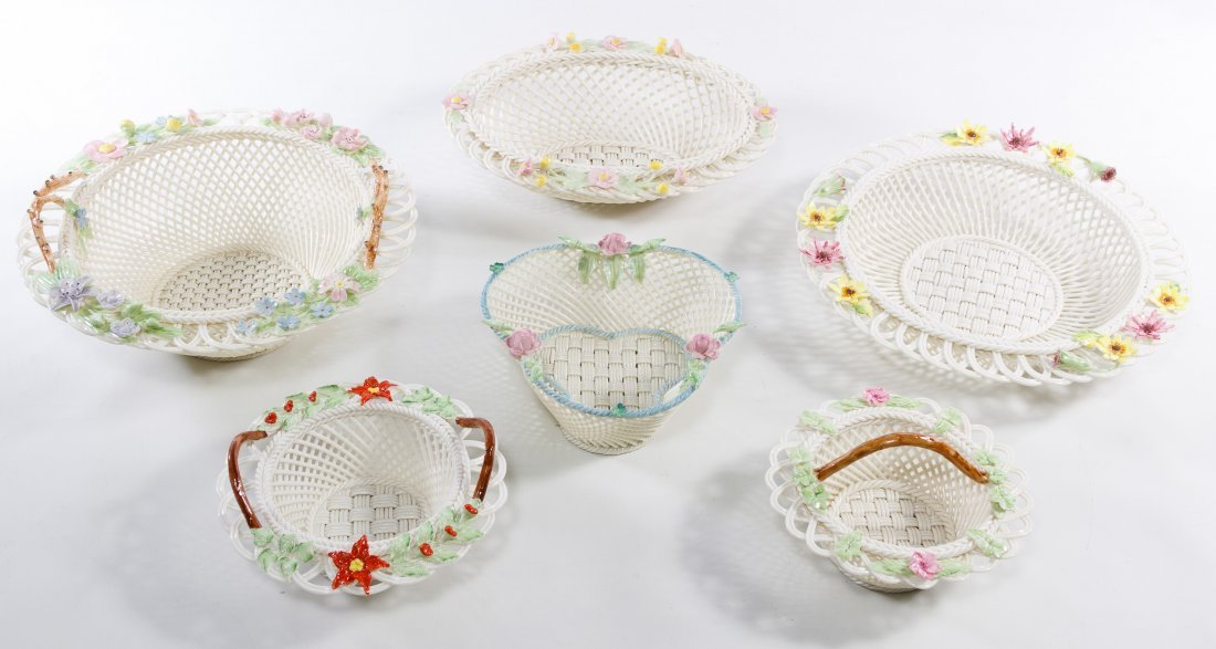 Belleek Basket Assortment