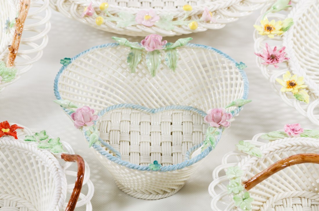 Belleek Basket Assortment - 2