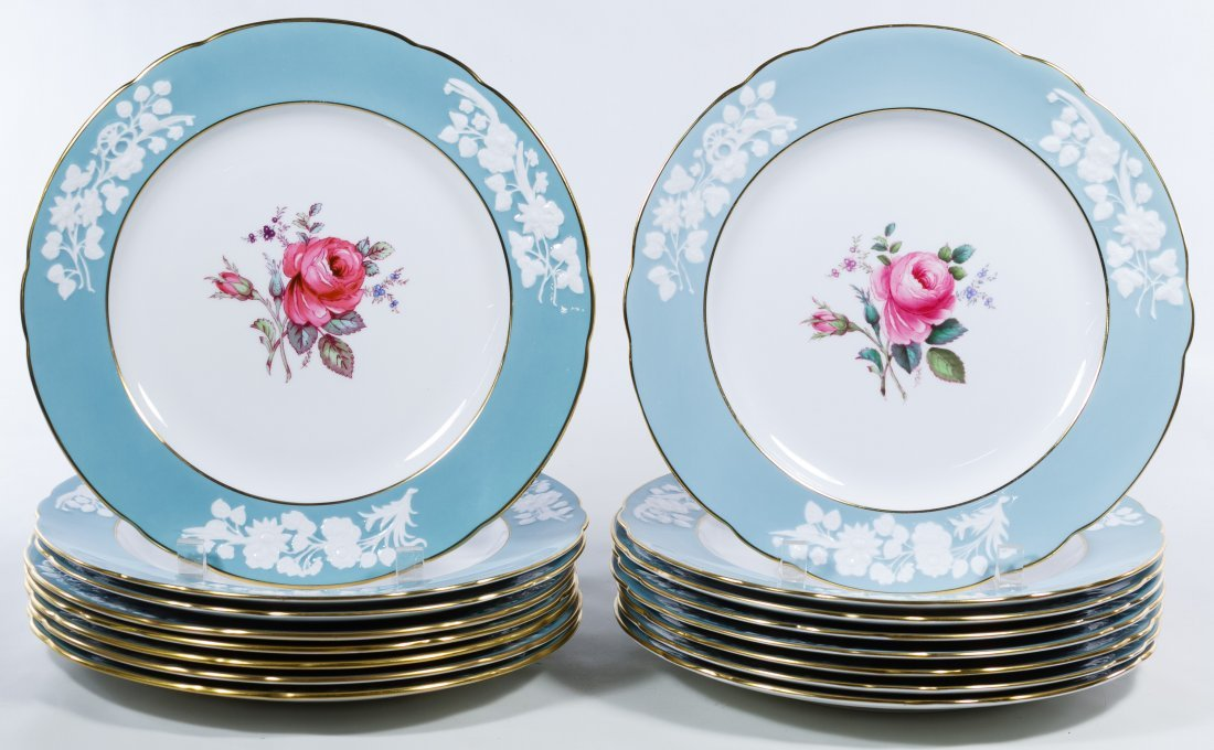 Copeland Spode 'Old Colony Rose' Plate Assortment