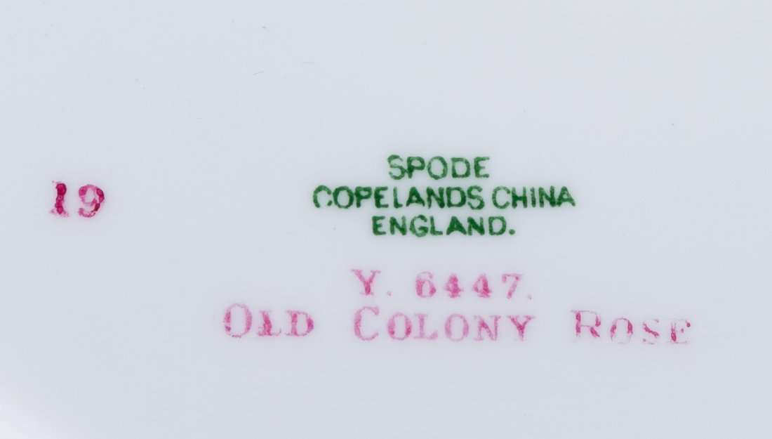 Copeland Spode 'Old Colony Rose' Plate Assortment - 2