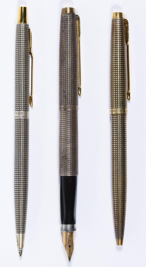Parker Sterling Silver Pen Set