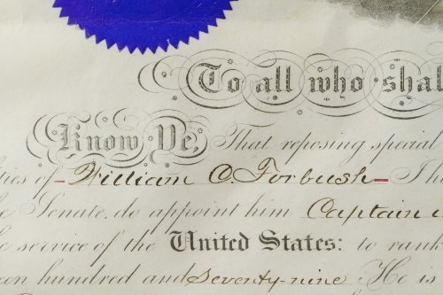 Rutherford B. Hayes Signed Presidential Military - 4