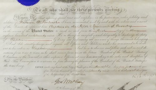 Rutherford B. Hayes Signed Presidential Military - 7