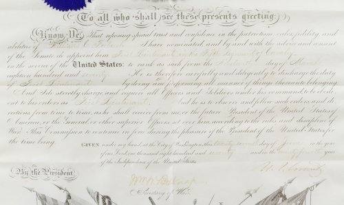 Ulysses S. Grant Signed Presidential Military - 2