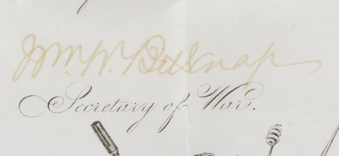 Ulysses S. Grant Signed Presidential Military - 5