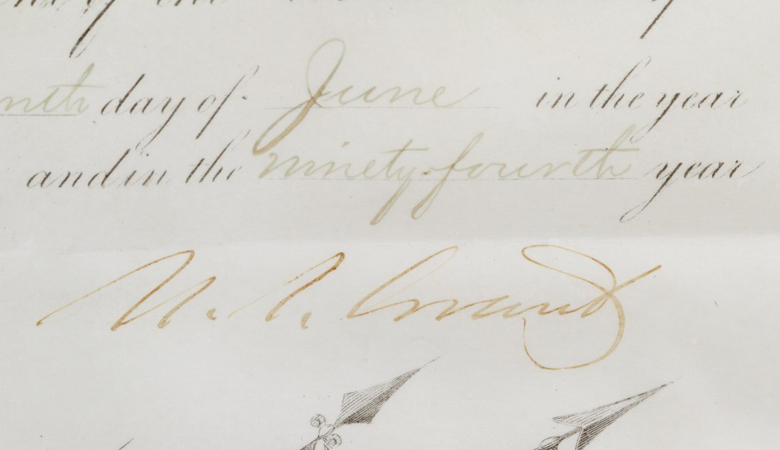 Ulysses S. Grant Signed Presidential Military - 6