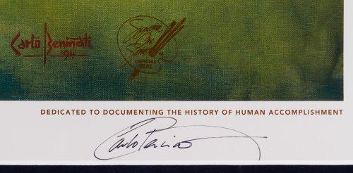 Carlo Beninati (American, b.1942) 'Joe DiMagio' Signed - 3