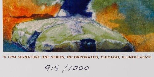 Carlo Beninati (American, b.1942) 'Joe DiMagio' Signed - 4